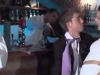 Gay Sex : Bridesman leave wedding choose to fuck his gay