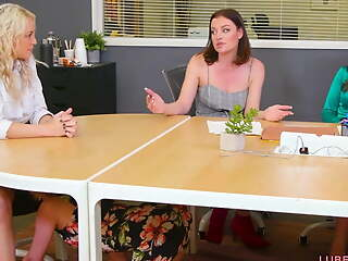 Woman on Woman wet action with Kenzie Taylor & Kristen Scott