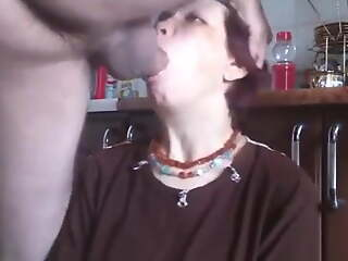 Horrific women...just use their throat in fine fettle cum on their face
