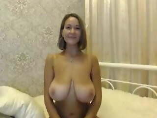 MILF with Big Natural Boobs