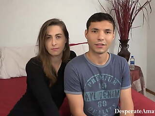 Casting real squirting moms, desperate amateurs compilation