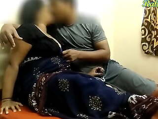 BIG BOOBED INDIAN AUNTY HAS SEX WITH SON'S Collaborate