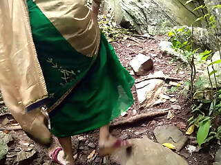 Outdoor Risky Set forth Fucking With My Horny Maid