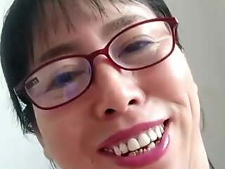 60 year old woman with her younger BF on the top of cam chat