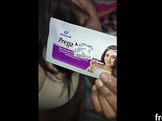 LIVE mom teaches how to do a pregnancy test, full process