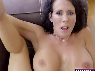 MomsTeachSex – Stepmom And Son Cum Pile up S9:E1