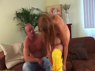 monster titty girl banged in spandex catsuit