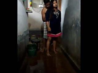 Devar bhabhi bathroom fucking clip