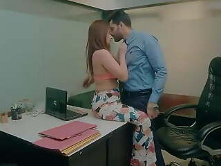 Office Threaten - Secretary With Boss