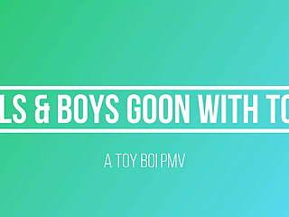 Girls & Boys Goon With Toys PMV