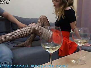 My girl caught me fucking her cute friend nigh stockings.