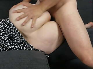 My stepmom this milf lets me fuck her huge ass!