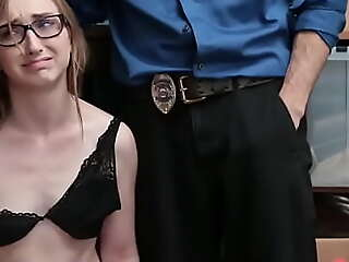 Tight Pussy Teen Punished for Theft
