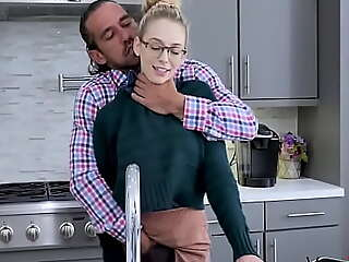 Disappointed Pop Fucks Teen Son As Punishment- Lily Larimar