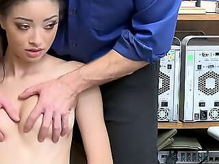 Sexy Mixed Teen Accused be worthwhile for Shoplifting