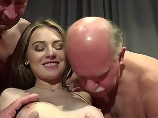 Old Young Porn Teen Gangbang wide of Grandpas cunt fucking ID take hoax gagging