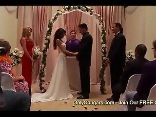 顽皮的新娘将成为凯拉·卡雷拉(Kayla Carrera)在新娘婚前就被除了一个G夫
