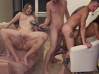 UNEXPECTED BISEXUAL ORGY