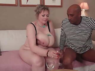 Mature Bbw Denisa's first time anal