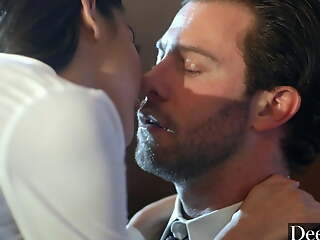 Deeper. Anal-queen Emily & Seth succumb to sexual tension