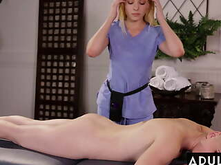 I Can't Believe My Masseuse Licked My Pussy!