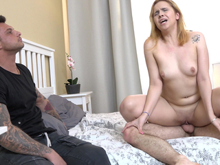 Redhead girlfriend fuck be required of rent effects