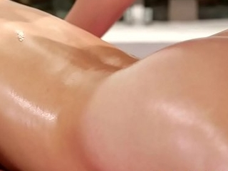 Beauty masseuse gets her hairypussy seduced