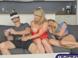 Cory Chase with the addition of Avalon Main ingredient share a cock