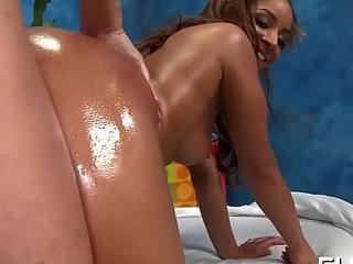 Oriental massage clip scene