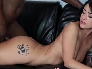 Babe rides black mamba