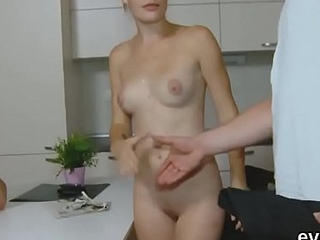 Dirt poor fella allows horny friend to get some shut-eye his ex-girlfriend for money